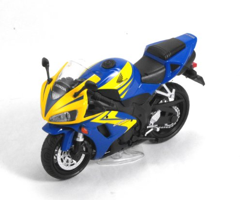 Kentoys 1/12 Die-cast Neo Cycle Motorcycle: Honda CBR 1000RR 2006 (Blue/Yellow)