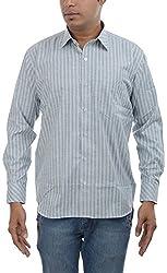 Major Sab Men's Casual Shirt MS7126L1_Green_XL