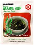 Kikkoman Instant Wakame (Seaweed) Soup (9 Pockets in 3 Packs) - 1.89 Oz