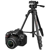 Nikon D5200 24.1MP Digital SLR Camera (Black) with AF-S 18-55 mm VR II Kit Lens, Memory Card, Camera Bag + Benro T600EX Digital Tripod Kit