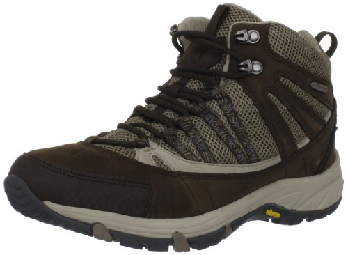 Hi-Tec Women's Harmony Mid WP Trail Running Shoe,Choc/Light Taupe/Stone,11 M US