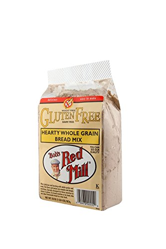 Bob's Red Mill Gluten Free Hearty Whole Grain Bread Mix, 20-ounce (Pack of 4) (Whole Grain Bread compare prices)