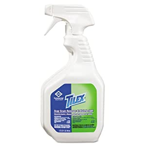 Soap Scum Remover, 32 oz. Trigger Spray Bottle, 9/Carton by CLOROX SALES CO. (Catalog Category: Office Maintenance, Janitorial & Lunchroom / Cleaning Supplies / Bathroom)