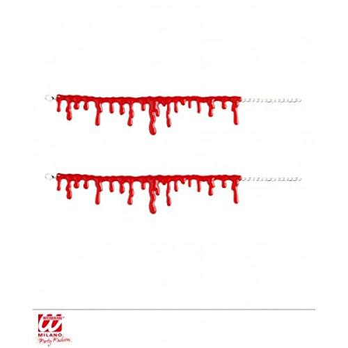 Set Of 2 Blood Drip Bracelets
