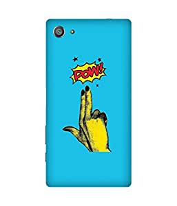 Pow! Back Cover Case for Sony Xperia Z5