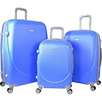 Travelers Club Luggage Barnet 2.0 3-Piece Round Shell Luggage Set