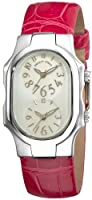 Philip Stein Women's 1-F-FSMOP-APS Signature Pink Leather Strap Watch by Philip Stein