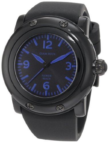Glam Rock GW25057 - Orologio da polso da donna colore nero