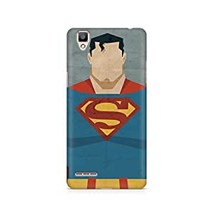 Ebby Superman Minimalist Premium Printed Case For Oppo F1 plus