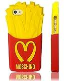 MOSCHINO モスキーノ iPhone6 シリコン ケース カバー フレンチポテト デザイン (対応機種iphone6 4.7インチ)