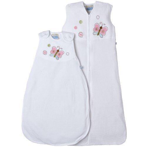 "Living Textiles Baby Girl ""Smart Dream Butterfly"" Sleep Sack-6M - 1"