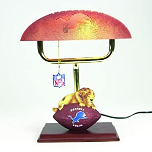 Amazon.com: Detroit Lions SC Sports Team Mascot NFL Desk Lamp: Home