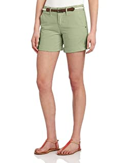 Sanctuary Clothing Women's Liberty Roll Short With Belt, Weed, 31