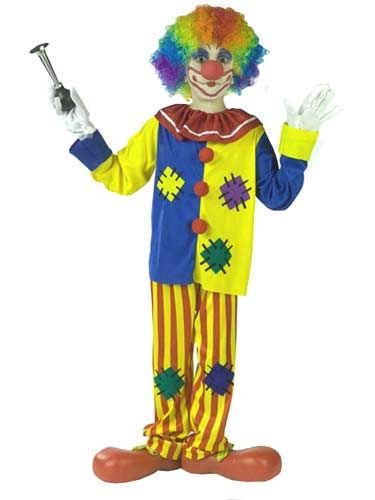 Child Big Top Clown Costume (Size: Large 10-12)