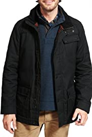 North Coast Pure Cotton Wax Belted Jacket [T16-2166N-S]