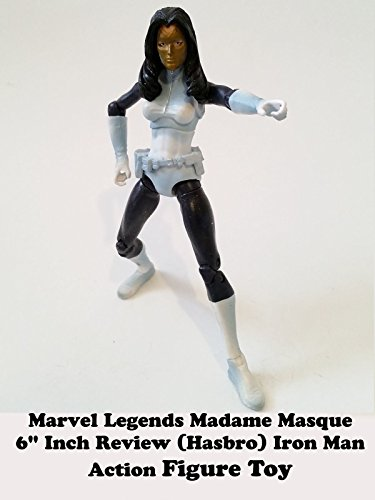 "Marvel Legends Madame MASQUE 6"" inch review (Hasbro) Iron Man action figure toy"