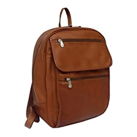 Piel Flap-Over Computer Backpack