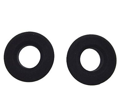 iParaAiluRy New Replacement Earpads Ear Pads Cushions for Grado SR80 SR60 SR125 SR225 SR325 325i Headphone, elastic sponge and PU leather Black