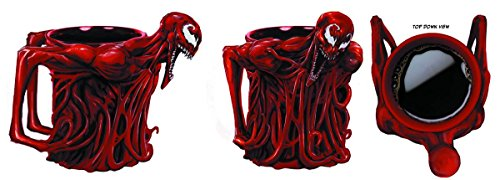 Officially Licensed Marvel Superhero CARNAGE Full Character Molded Mug 16oz (Marvel Character Mug compare prices)