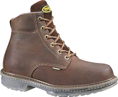 "Men's Wolverine® Wolverine CompressorTM 6"" Boot (8.5 3E in Brown)"