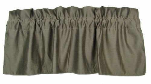 American Mills 36870.035 Shadow Valance, 18 by 54-Inch, Set of 2