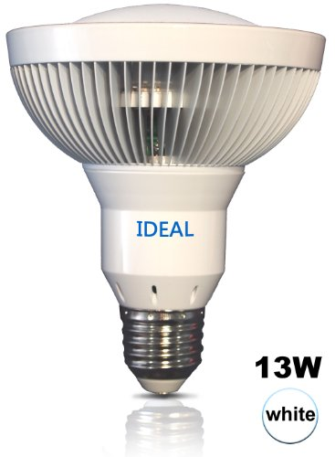 (1 Pack) IDEAL LED (CREE) 13 Watt Neutral White 4300K PAR30 Flood Light Bulb 90 degrees beam- Replace 75 watt halogen / BR30 - use 12 MX LED