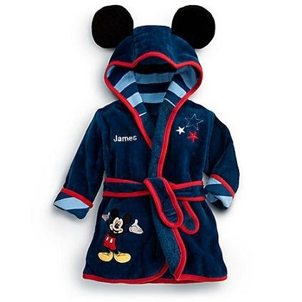 Disney Mickey Mouse Baby Bathrobe ( Bath Towel, Towel, Afghanistan ) back-158881