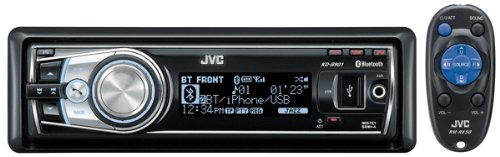 JVC CD MP3 WMA USB iPod Ready and Handsfree Bluetooth