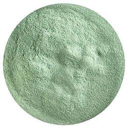 5 Oz Aventurine Green Transparent Powder Frit - 90 Coe