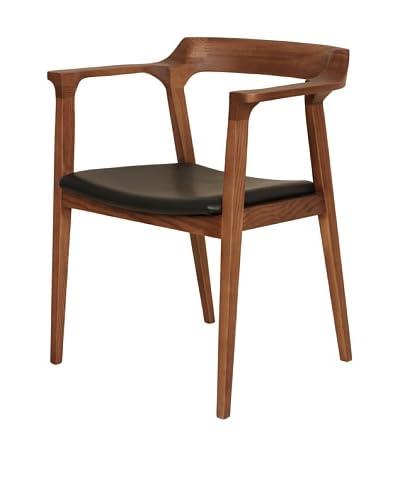 Control Brand The Djursholm Arm Chair, Walnut/Black