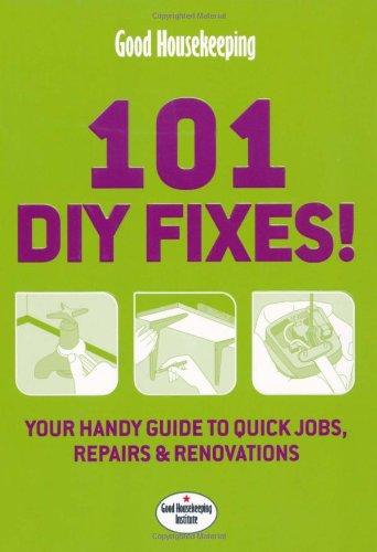 Good Housekeeping 101 DIY Fixes