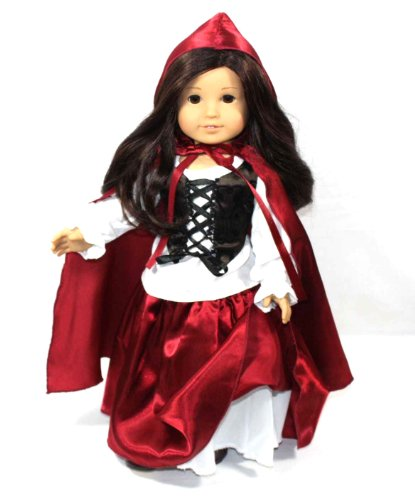 Red Riding Hood Doll Costume