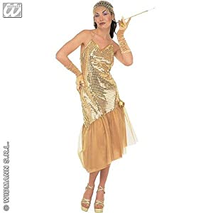 ... FLAPPER FANCY DRESS COSTUME SIZE 10-12: Amazon.co.uk: Toys & Games