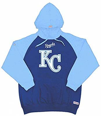 MLB Kansas City Royals Youth Big Logo Pullover Hood