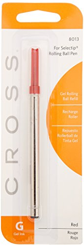 Cross Recharge pour Stylo-bille Rouge