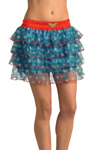 Rubie's Costume DC Comics Justice League Superhero Style Teen Skirt