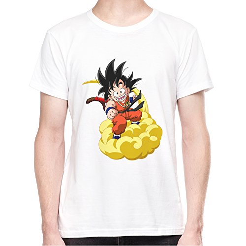 Son-Goku-On-Cloud-Fan-Art-Camiseta-Para-Hombre-XX-Large