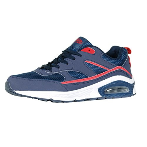 mens-legacy-air-bubble-max-90-running-trainers-navy-red-white-uk8-eu42