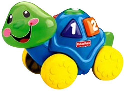 Fisher Price: Roll-Along Pals Turtle (Fisher Price Musical Farm compare prices)