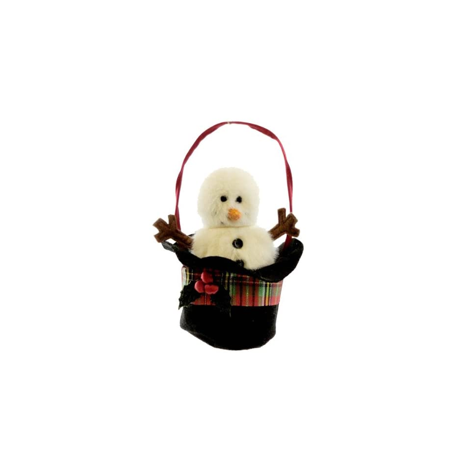 "Boyds Bears Tartenbeary Plush Ornament   Chilly Snowman   5"" Toys & Games"