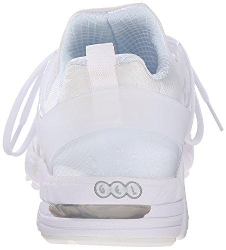 ASICS GT DS Retro Running Shoe, White/White, 8.5 M US