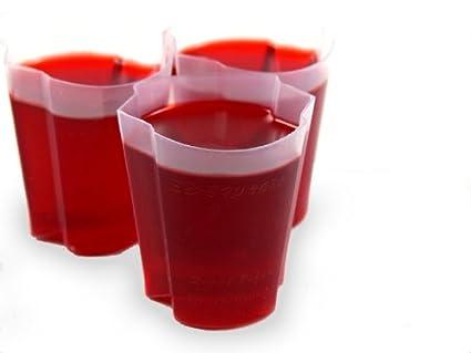 Jello Shot Cups 100 ez Squeeze Jello Shot Cups