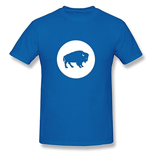Catees uomo Buffalo Art Design Blu reale XXL