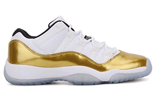 Nike Boys Air Jordan 11 Retro Low BG Big Kids GS Basketball Shoes, 4.5 (Nike Air Jordan Retro 11 compare prices)