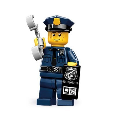 LEGO 71000 Series 9 Minifigure Police Man - 1