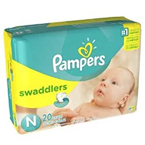 Amazon.com : Pampers Swaddlers Diapers, Newborn (Up to 10 ...