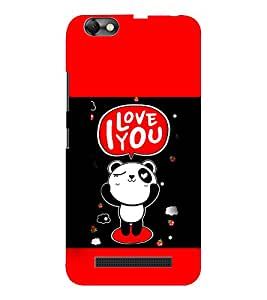 EPICCASE Cute Panda Mobile Back Case Cover For Lenovo A2020 (Designer Case)