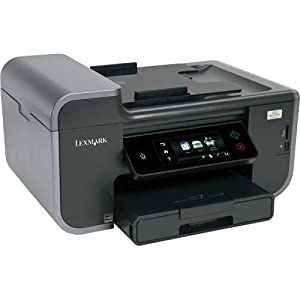 Lexmark Prestige Pro805 Small Office Wireless Multifunction Inkjet Printer with Web-enabled Touchscreen