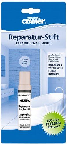 Lackstift für Sanitär (manhattan). Einkomponenten-Speziallack für Kratzer und Lackfehler im Haushalt