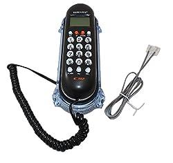 Inovera KX-T666CID Orientel Landline Caller ID Telephone (Black)